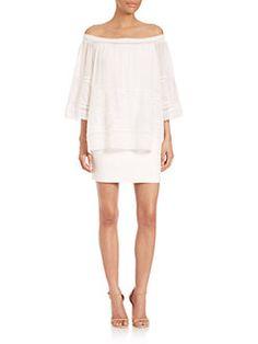 Bailey 44 - Cupid Crochet Cold-Shoulder Dress