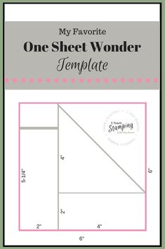 Using a one sheet wonder template can make creating a handful of cards quick and easy and still gorgeous - check out my favorite template!NB: PHOTO HEAVY Have you heard of a One Sheet Wonder template? Card Making Templates, Card Making Tips, Card Making Tutorials, Card Making Techniques, Card Templates Printable, Paper Craft Templates, Christmas Card Templates, Card Making Ideas Free Printables, Owl Templates
