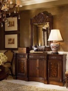 beautiful buffet table - Dining Room Sideboard Decorating Ideas