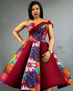 The complete pictures of latest ankara long gown styles of 2018 you've been searching for. These long ankara gown styles of 2018 are beautiful African Dresses For Women, African Print Dresses, African Attire, African Wear, African Fashion Dresses, Ghanaian Fashion, Ankara Fashion, African Prints, African Women