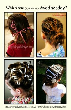 Girly Do Hairstyles: By Jenn: Which one Wednesday?