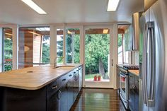 """Eyebrow House (Featured in """"Portlandia"""") - contemporary - kitchen - portland - by Papazian R.A."""