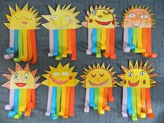 Gespenst - Basteln mit Kids Best Picture For spring art projects for kids flowers For Your Taste You Kindergarten Art Lessons, Art Lessons Elementary, Rainbow Crafts, Rainbow Art, Kids Rainbow, Classroom Art Projects, Art Classroom, Spring Art Projects, Spring Crafts