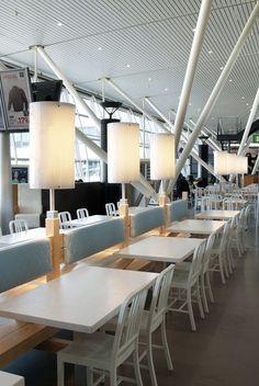 Restaurant component design!! Booth ideas!!  Bread! restaurant by Tjep., Amsterdam » Retail Design Blog