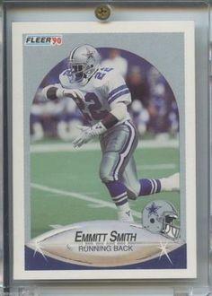 1990 Fleer Update Emmitt Smith Rookie U-40 Dallas Cowboys Football 35d038ffb