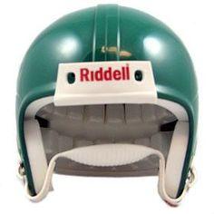 Riddell VSR4 Blank Mini Football Helmet Shell - Kelly Green