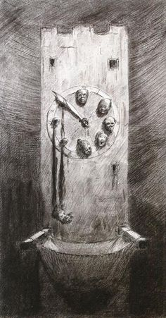 History of Art: Alfred Kubin Arte Horror, Horror Art, Scary Art, Creepy, Alfred Kubin, Surrealism Drawing, Scary Monsters, Occult Art, Egyptian Art