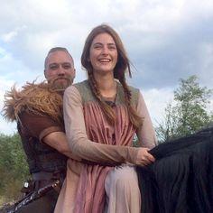 The Last Kingdom - Erik and Aethelflaed