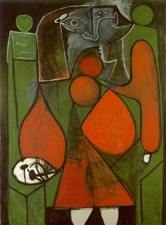 Pablo Picasso - Sitting Woman 1, 1949