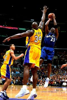 Michael Jordan Washington Wizards Los Angeles Lakers Shaquille O'Neal