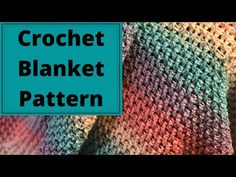 How To Crochet A Blanket For Absolute Beginners The Rainbow Blanket Crochet Baby Blanket Free Pattern, Easy Crochet Blanket, Afghan Crochet Patterns, Crochet Blankets, Baby Blankets, Crochet Afghans, Crotchet Patterns, Crochet Rugs, Crochet Dishcloths