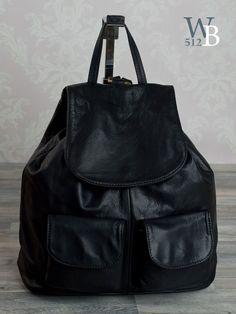 Ital. vitange XL Rucksack Lederrucksack Damenrucksack in schwarz echt Leder 761S in Kleidung & Accessoires, Damentaschen   eBay