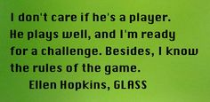 Bonus Quote of the Day, from GLASS