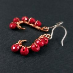 Mehindi Inspired Peacock – Ruby Red $15.00