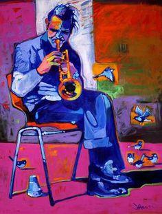 Chet Baker by Jeff Ham