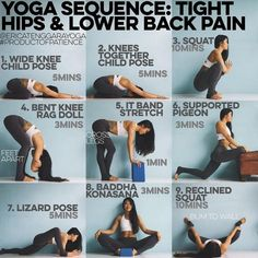 YOGA SEQUENCE: TIGHT HIPS LOWER BACK PAIN This is targeted to newbies those who find sitting on the floor challenging in particular sit at the desk all day. Also great for runners, cyclists, cardio junkies to do something slower more meditative just Yoga Fitness, Fitness Tips, Health Fitness, Workout Fitness, Health Yoga, Quick Weight Loss Tips, How To Lose Weight Fast, Losing Weight, Reduce Weight