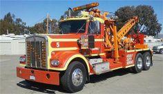 Kenworth W 900 (Heavy - Tow Truck) - 1972 Kenworth Trucks, Peterbilt, Cool Trucks, Big Trucks, Towing And Recovery, Heavy Duty Trucks, Heavy Truck, Truck Repair, Rescue Vehicles
