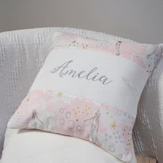 Mermaid Name Cushion by Tuppenny House Designs, the perfect gift for Explore more unique gifts in our curated marketplace. Mint Green Background, Pastel Background, Little Girl Gifts, Little Girls, Peppa Pig Soft Toy, Mermaid Names, Pink Cushions, Personalised Cushions, Patchwork Cushion
