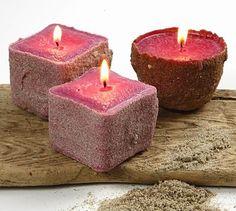 make sand candles