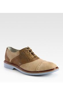 Cole Haan Air Franklin Saddle Shoe