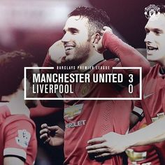The 3-0 scoreline might not tell the whole story of today's game but it was a well-deserved win which banishes memories of last season's Old Trafford meeting with our arch-rivals.♥