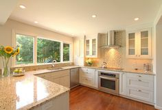 Young kitchen - traditional - kitchen - dc metro - Anthony Wilder Design/Build, Inc.