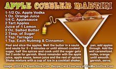 Apple Cobbler Martini recipe