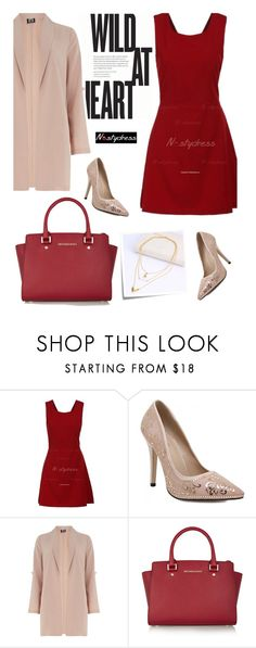 """Nastydress 18/2"" by merima-kopic ❤ liked on Polyvore featuring Dorothy Perkins, MICHAEL Michael Kors, Post-It and nastydress"