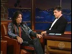 Alice Cooper on the Late Late Show