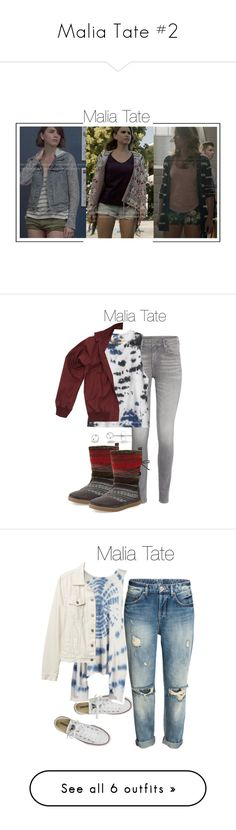 """""""Malia Tate #2"""" by shadyannon ❤ liked on Polyvore featuring RVCA, Fred Perry, TOMS, Converse, Vintage Havana, Gap, Paige Denim, Free People, VIPARO and Marc Jacobs"""