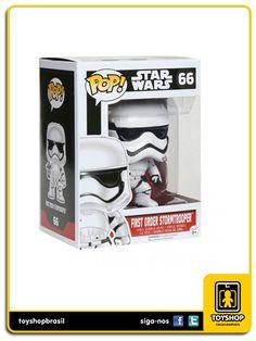 Star Wars first order stormtrooper Pop Funko, order, star wars, pop funko, funko, comprar funko, comprar reycolecionáveis, figuras de ação, action figures, toy