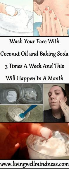 Use Two Ingredients Coconut Oil And Baking Soda This Reverse Aging Skin Naturally Many people like to use Coconut Oil as a natural moisturizer. Its natural antioxidant properties make it great for … Baking Soda For Skin, Baking Soda And Honey, Baking With Coconut Oil, Coconut Oil For Acne, Coconut Scrub, Organic Coconut Oil, Belleza Diy, Tips Belleza, Vinegar For Acne