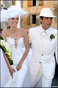La robe de mariage de Sylvie Tellier