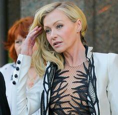 Ellen And Portia, Portia De Rossi, Ellen Degeneres, Gay, Celebs, T Shirts For Women, Beauty, Tops, Fashion