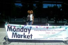 Our brand new outside banner.  There is also a message on the light-up-display. Come & Visit us.  Grab a Coffee, buy a gift!