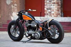 Harley-Davidson Panhead (1951) by Thunderbike-and no, this doesn't mean it's ok to get one....