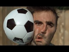 Football vs Face 1000x Slower - The Slow Mo Guys - YouTube