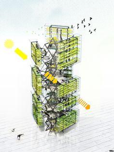 SOA Architectes Paris > Projets > Fermes urbaines
