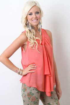 Like this top BUT I WANT the pants ;) Desert Summer Top $20.70