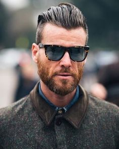 This magnificent masterpiece who looks good in literally anything. | 29 Beard And Undercut Combinations That Will Awaken You Sexually
