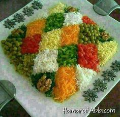 Salate decoration