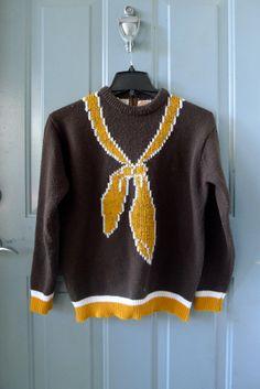 vintage sweater, stylebook (etsy)