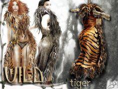 !gO! Wild fur coat - tiger