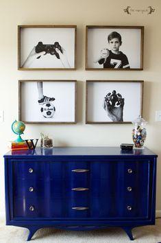 DIY Engineer Prints for Big Boy Room | FIve Marigolds