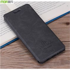 For Xiaomi Redmi Note 4X Cover Flip PU Leather Case Mofi Original High Quality Book Style Cell Phone Cover