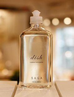 """""""dish"""" malabar lemongrass, organic soap by SAGA"""