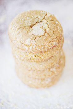 Lemondoodles  by number-2-pencil: A lemon snickerdoodle! #Cookies #Lemondoodle