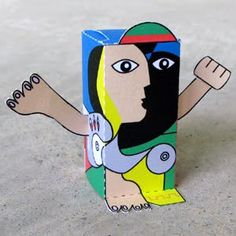 Toy-A-Day: Day 136: Artist's Special #1 - Pablo Picasso