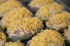 Nom Nom Nom: Chili & Cheese Twice Baked Potatoes