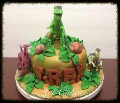 T-REX Birthday Cake | Nora Rexach | Flickr